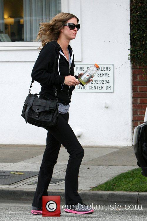 Nicky Hilton leaving Byron & Tracey salon Beverly...