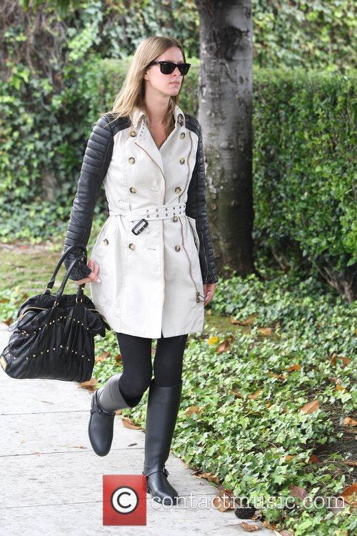 Nicky Hilton is seen leaving Barneys New York...
