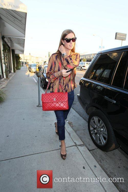 Nicky Hilton shops at Diane von Furstenberg boutique...