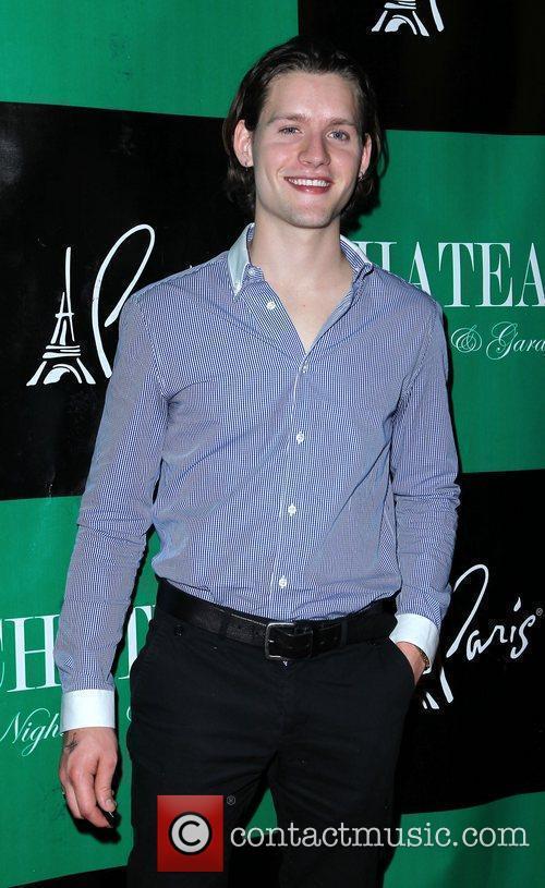 Luke Kleintank Nicky Hilton hosts at Chateau Nightclub...