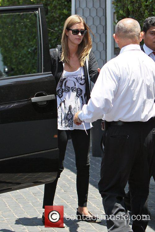 Arriving at Cecconi's West Hollywood for lunch
