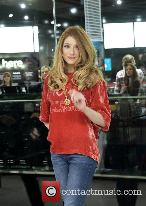 Nicola Roberts  meets fans and signs copies...