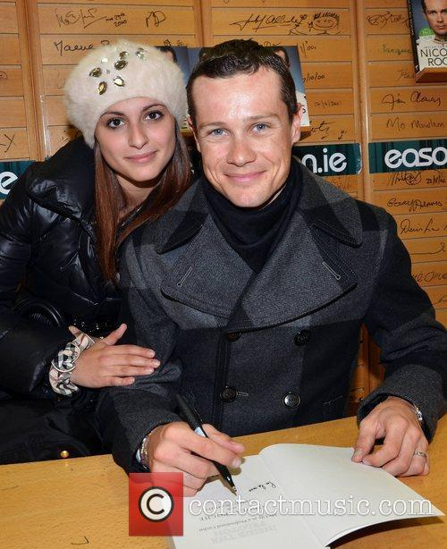 Nicolas Roche and girlfriend Chiara Gemma Professional cycilist...