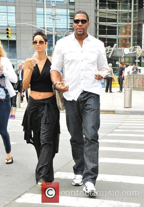 Nicole Murphy, Michael Strahan and Midtown 3