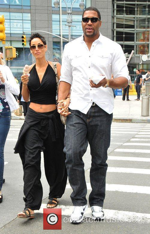 Nicole Murphy, Michael Strahan and Midtown 5