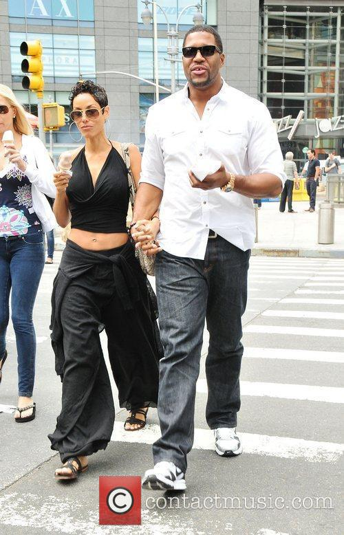 Nicole Murphy, Michael Strahan and Midtown 4
