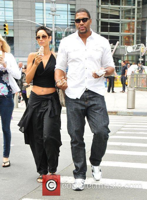 Nicole Murphy, Michael Strahan and Midtown 2
