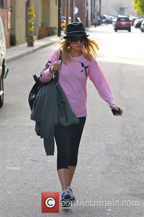 Leaving a gym in Studio City