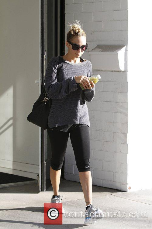 Nicole Richie at the gym Los Angeles, California