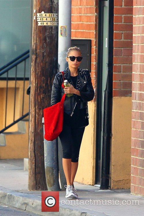 Spotted leaving the gym in Studio City