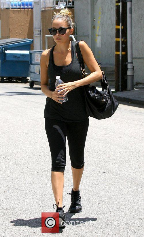 Leaves her gym in Studio City after a...