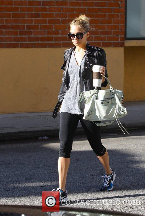 Nicole Richie leaves gym in Studio City...