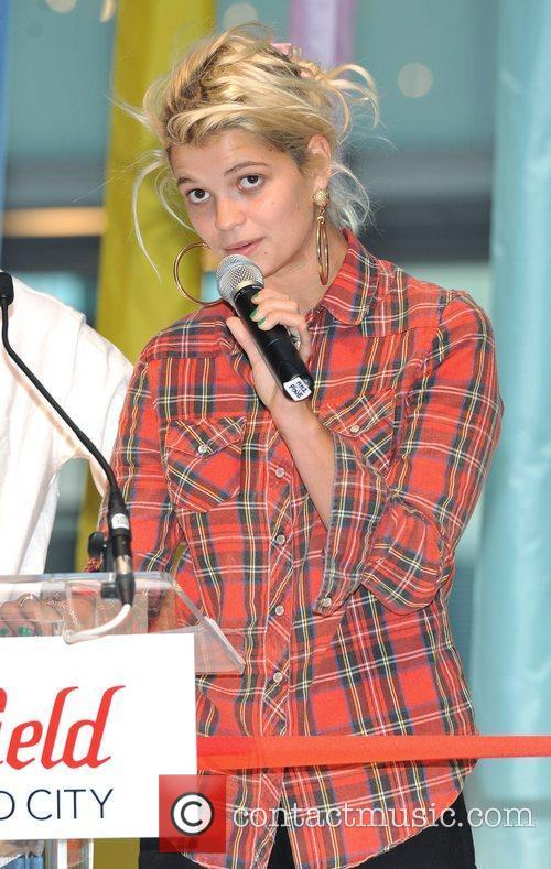 Pixie Geldof opens the new Westfield Centre at...