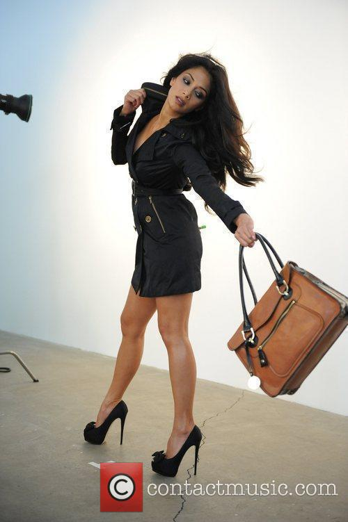 Nicole Scherzinger is unveiled as the face of...