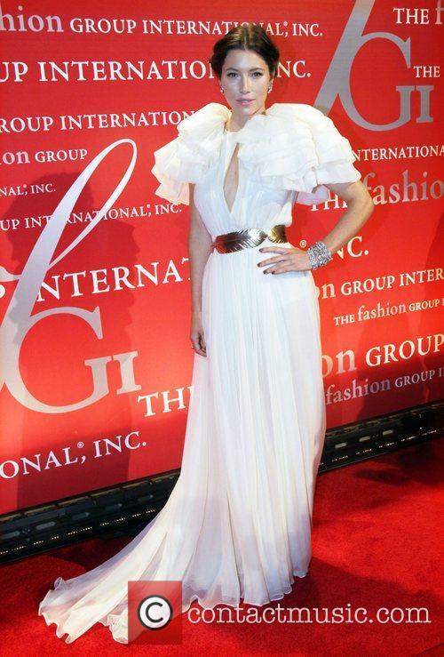 Jessica Biel  attends Fashion Group International's 28th...