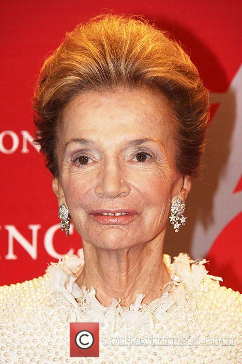 Lee Radziwill attends Fashion Group International's 28th annual...