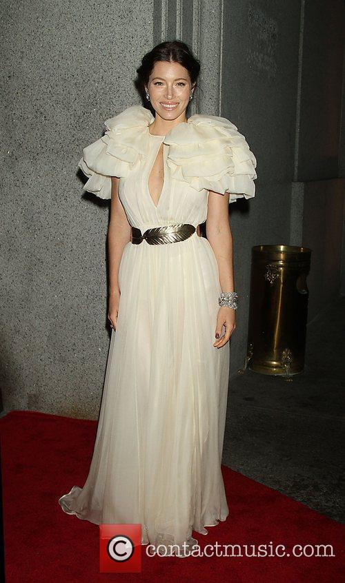 Jessica Biel Fashion Group International's 28th annual Night...