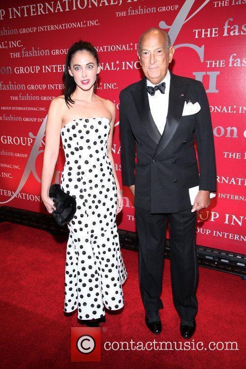 Erica Bearman and Oscar De La Renta...