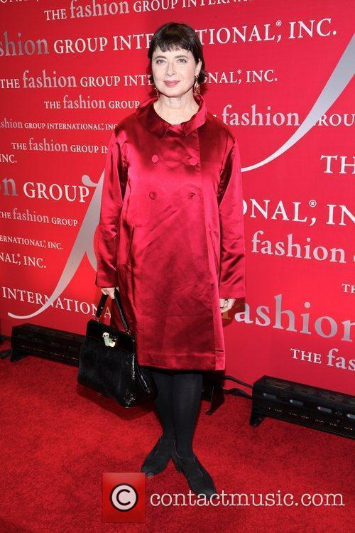 Isabella Rossellini  attends Fashion Group International's 28th...