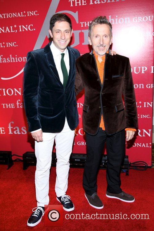 Jonathan Adler and Simon Doonan  attends Fashion...