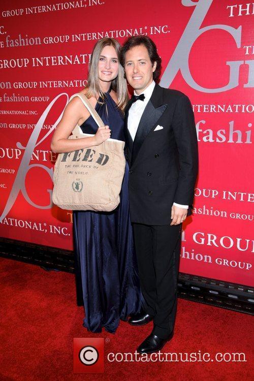 Lauren Bush and David Lauren  attends Fashion...