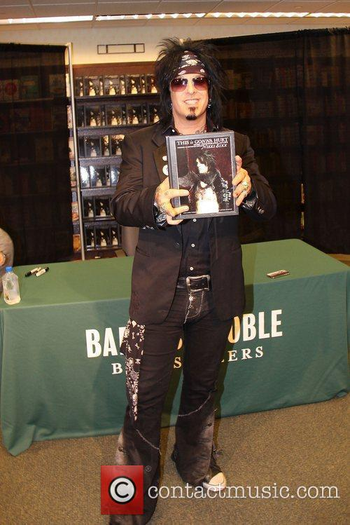 Nikki Sixx promotes his book 'This Is Gonna...