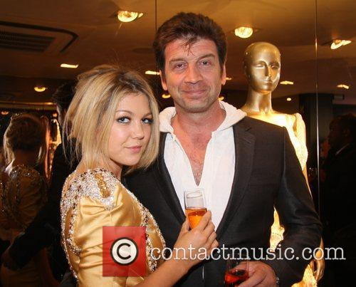 Nick Knowles and Girlfriend Nina Naustdal Couture -...