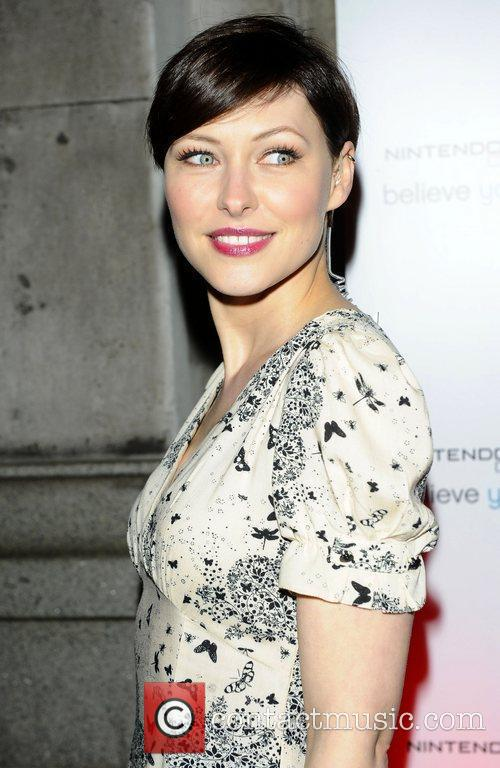 Emma Willis Attends the launch of the Nintendo...
