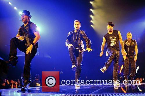 Brian Littrell, Nick Carter, A.J. McLean and Howie...