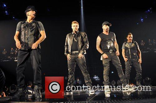 Brian Littrell, Nick Carter, AJ McLean and Howie...