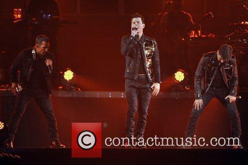 Jordan Knight, Backstreet Boys, Brian Littrell and Nick Carter 5