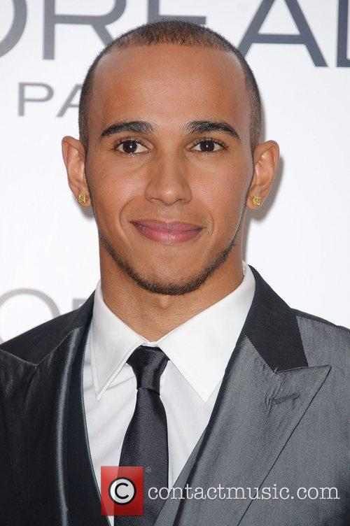 Lewis Hamilton National Movie Awards held at the...