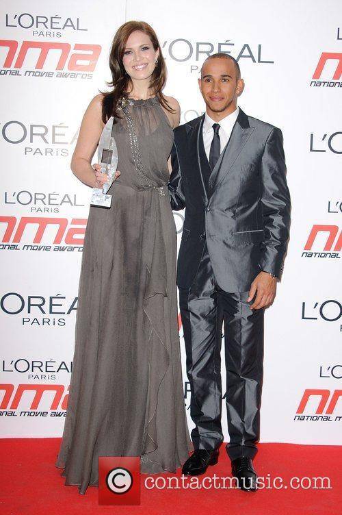 Mandy Moore and Lewis Hamilton National Movie Awards...