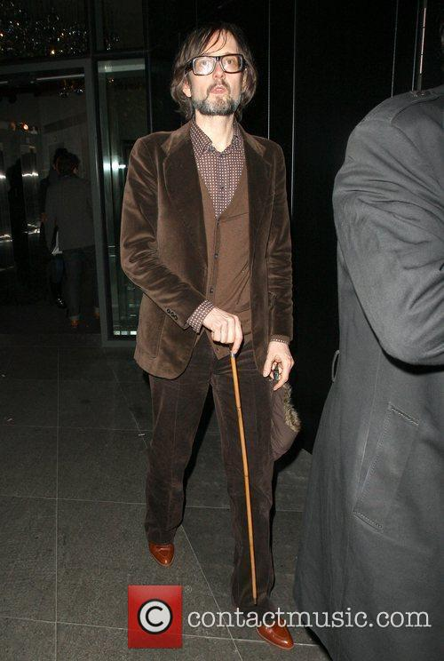 Celebrities outside the NME Awards after party held...