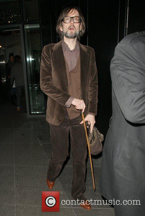 Jarvis Cocker Celebrities outside the NME Awards after...