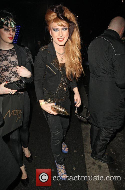 Jodie Harsh Celebrities outside the NME Awards after...