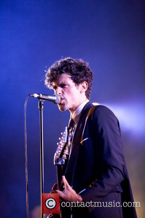 Charlie Fink of Noah and the Whale performing...