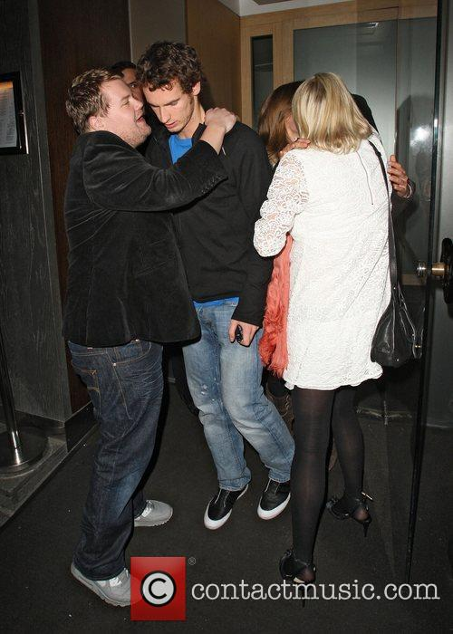 Andy Murray and Kim Sears dined with James...