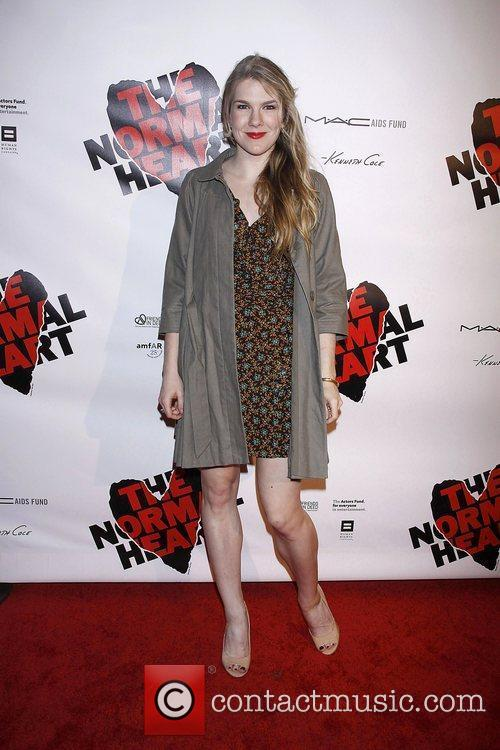 Lily Rabe  Opening night of the Broadway...