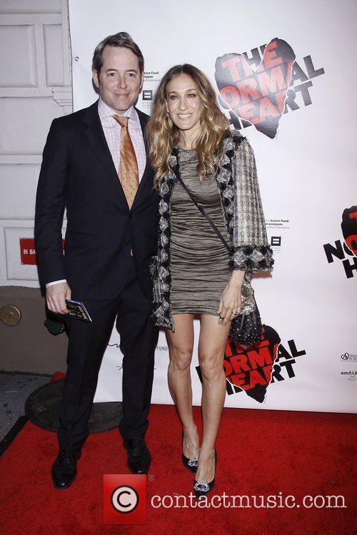 Matthew Broderick and Sarah Jessica Parker  Opening...