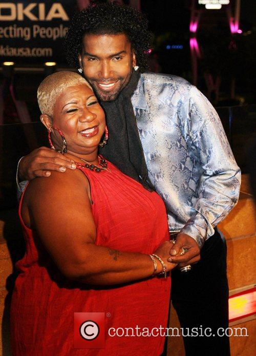 Luenell and Norwood Young  Norwood Young Red...