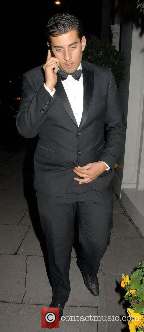 James Argent,  at the News Of The...