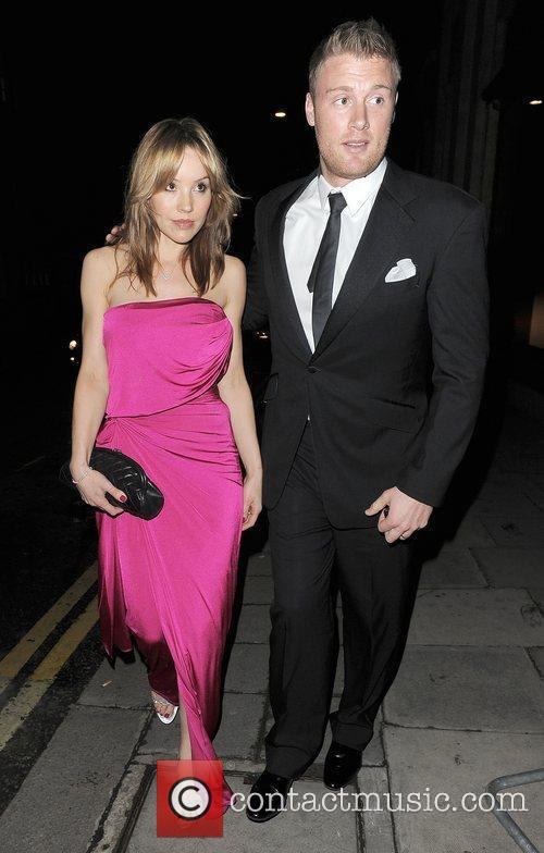 Andrew Flintoff and his wife Rachael Flintoff News...