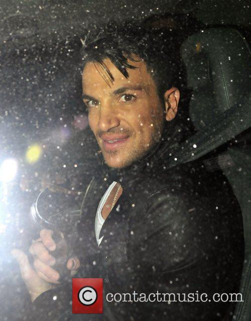 Peter Andre,  at the News Of The...