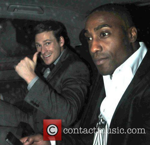Simon Webbe,  at the News Of The...