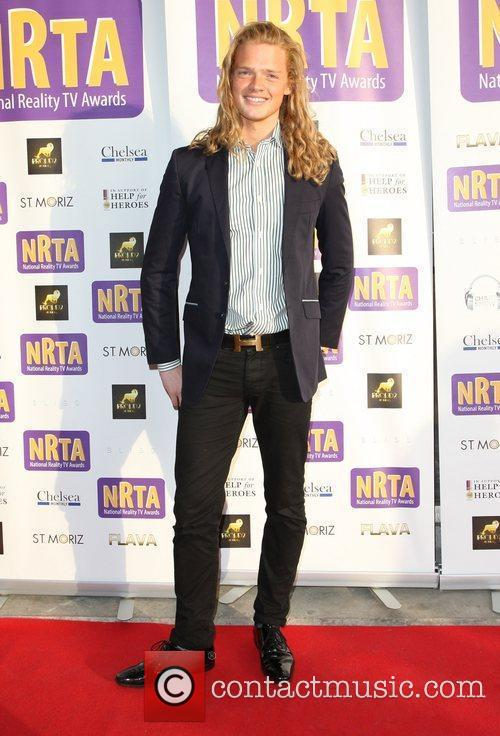 Fredrik Ferrier The National Reality Television Awards 2011...