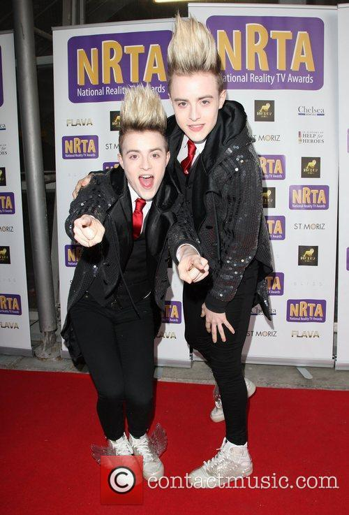 Jedward The National Reality Television Awards 2011 held...