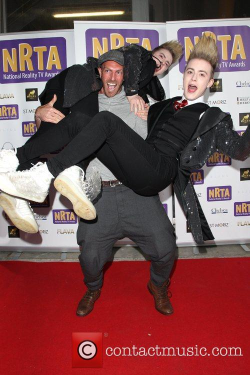 Jedward and James Ingham Sunday Star The National...