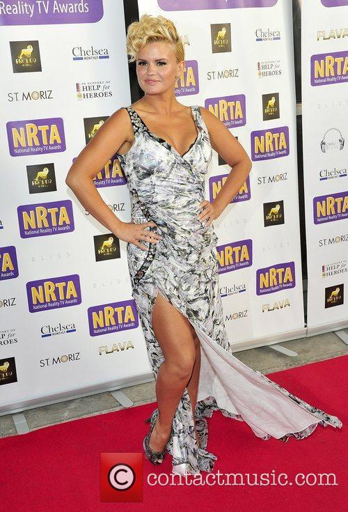 Kerry Katone The National Reality Television Awards 2011...