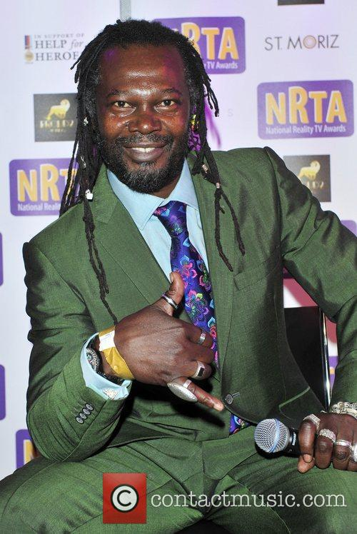 Levi Roots and Amy Childs